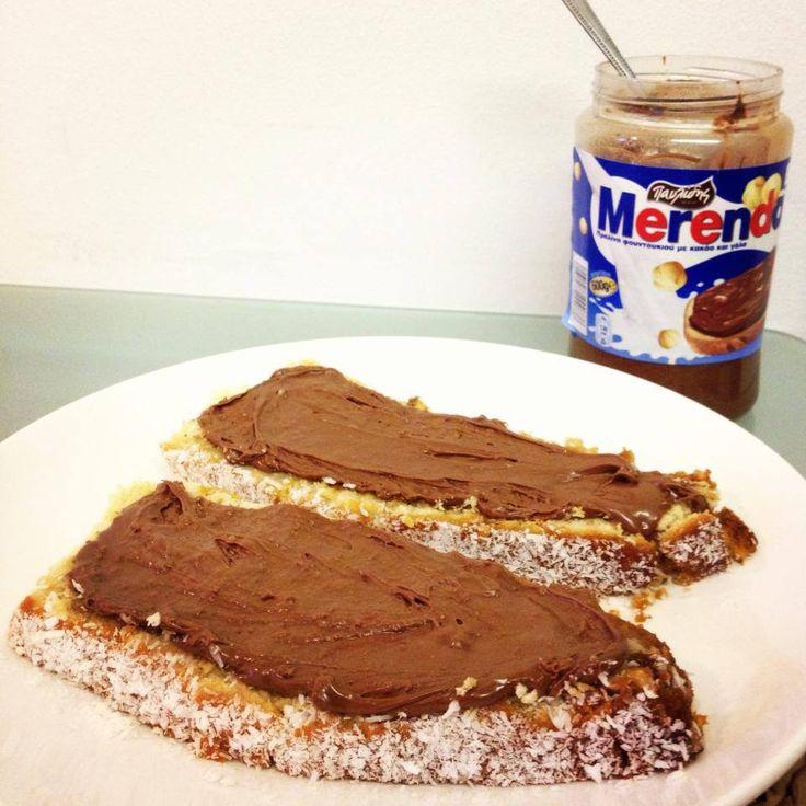 Ready for a snack? Praline and chocolate spread! YUMI!! http://agoragreekdelicacies.co.uk/shop/4570272296/Merenda-Spread-400gr/5649459