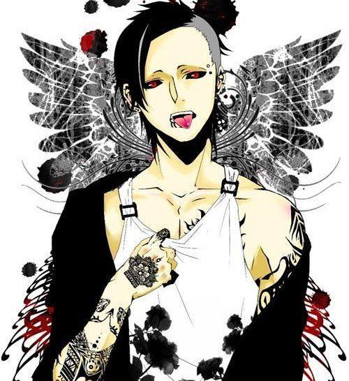 🕊.....................☕☕☕ . . . . . . .#uta #tokyoghoul #angel #touka #kanneki #tokyo #digitalart #kawaii #style #scene #punk #tatuajes  #tattoo #look #india  #love #anime  #otaku #manga #mask #mascara