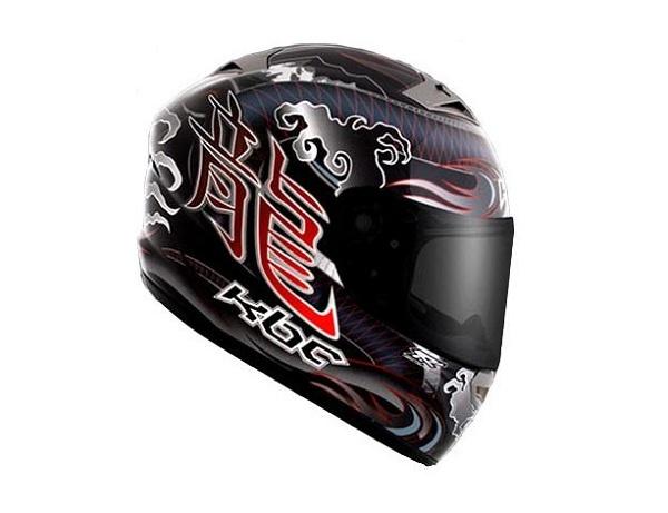 KBC VR-2R Dragon Helmet Red...