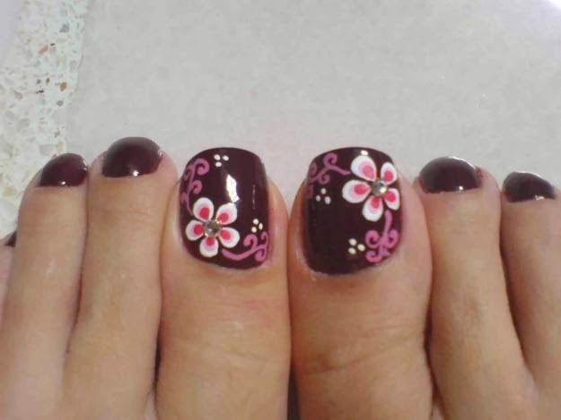 decoracion de uñas de los pies - Buscar con Google