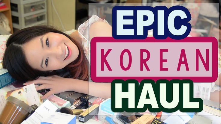 KimDao shares a HUGE Korean Makeup and Skincare Haul of all the products she received in Korea!