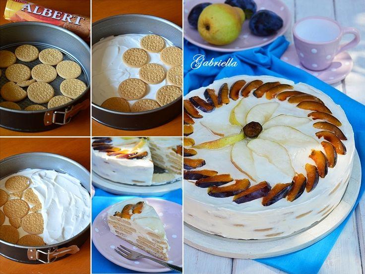 Gabriella kalandjai a konyhában :): Tejföltorta - sütés nélkül