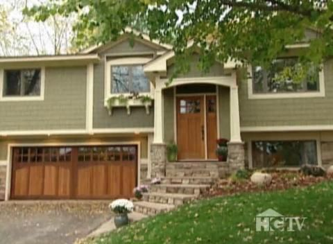 Split Level Curb Appeal | Exterior Home Makeover: Split Level Home with Craftsman Details ... - Picmia