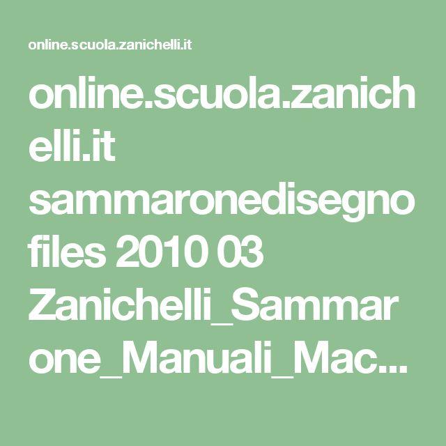 online.scuola.zanichelli.it sammaronedisegno files 2010 03 Zanichelli_Sammarone_Manuali_Macchine.pdf