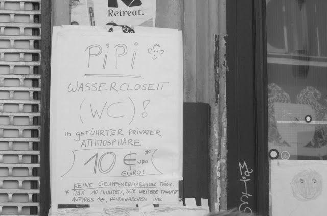 BERLIN, 1. Mai: HÄNDEWASCHEN INKL.