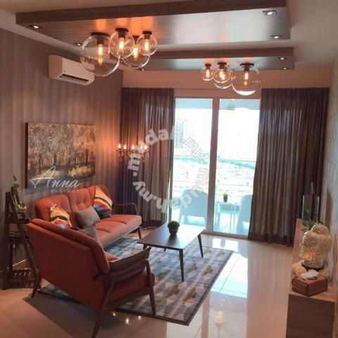 Kiara Residence 2, Bukit Jalil 1200 sq.ft n, Fully furnished - Apartments for rent in Bukit Jalil, Kuala Lumpur