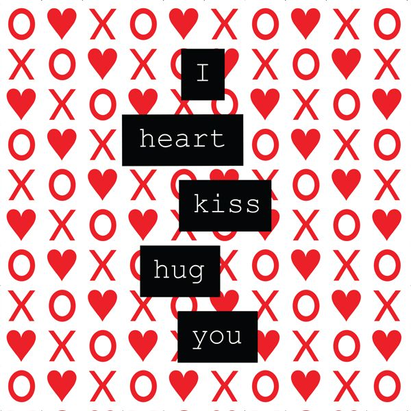 valentine day kiss day hug day