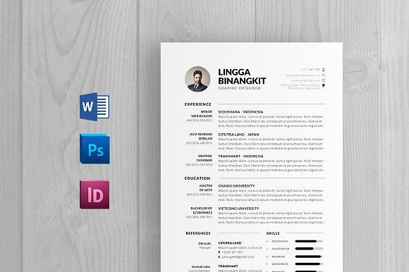 Resume 20 - A4 PowerPoint Format Communication Design - powerpoint designer resume