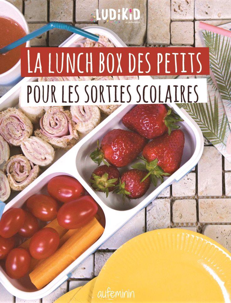 C'est le moment des sorties scolaires et pique-niques ! Retrouvez une idée de lunchbox originale pour les kids !