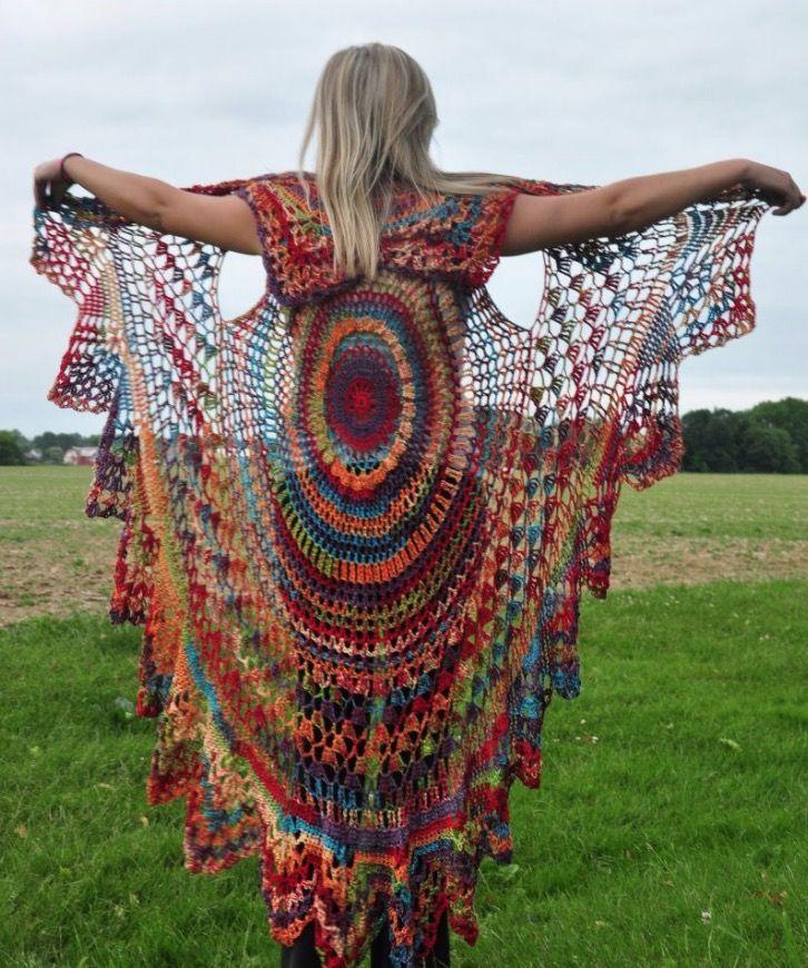 10 mejores imágenes sobre Stola Vest en Pinterest   Patrón libre ...