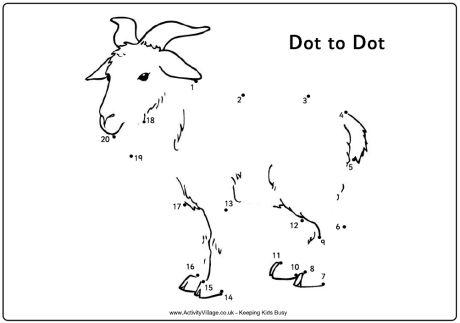 Dot to dot goat