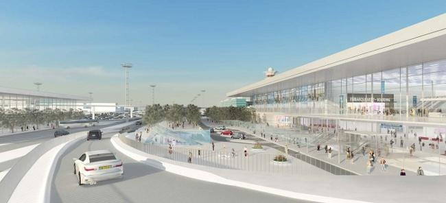 Maquette: Aéroport Paris-Orly, nouveau visage en 2018