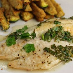 Baked Garlic Lemon Tilapia