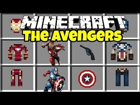THE AVENGERS INFINITY WAR MOD In MINECRAFT! | Minecraft Mods