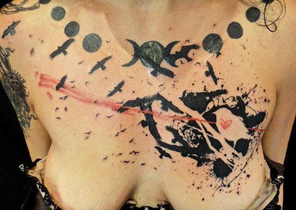 Abstract Tattoo by Xoil Tattoo - http://worldtattoosgallery.com/abstract-tattoo-by-xoil-tattoo-54/