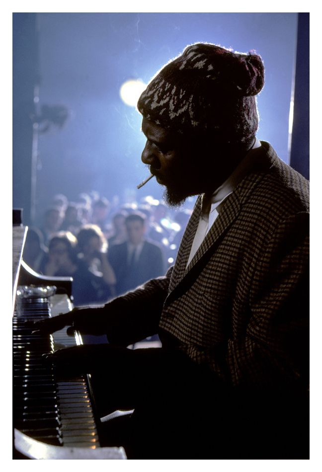 the way you look tonight • thelonious monk (photo by burt glinn, new york,1975)