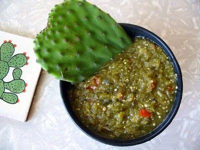 Nopales (Cactus) Salsa
