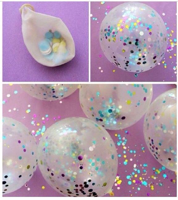 Confetes para colorir!