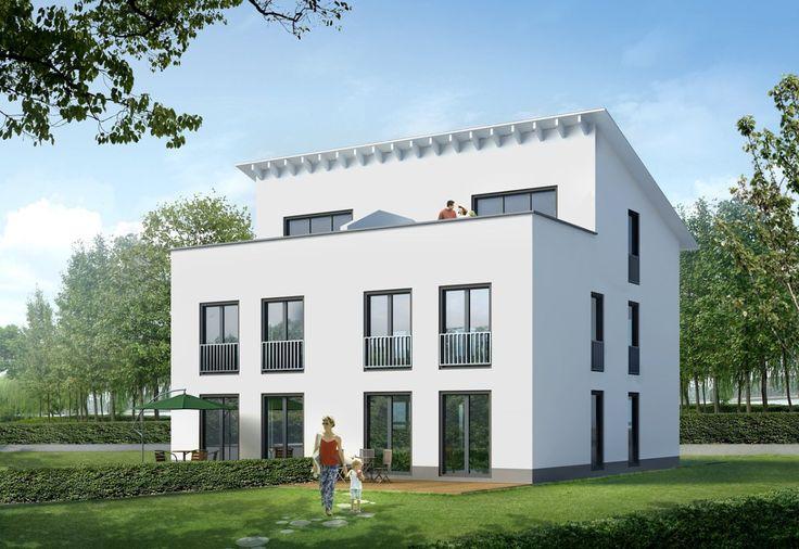 ber ideen zu pultdach auf pinterest einfamilienhaus fertigh user und walmdach. Black Bedroom Furniture Sets. Home Design Ideas