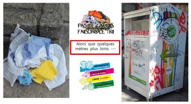 groupe 44 Un nouveau dispositif de tri : La collecte de textile Date : 29/09/2015 Lieu : Place Jean Moulin à Saint- Etienne