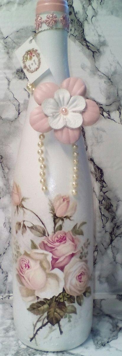 garrafas-decoradas-com-rosas-vidro-decorado.jpg (413×1200)