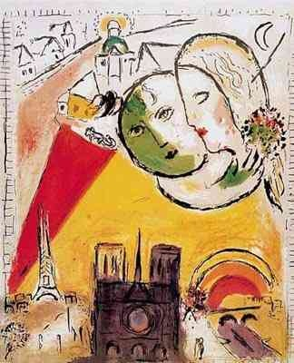 The fabulous Marc Chagall.