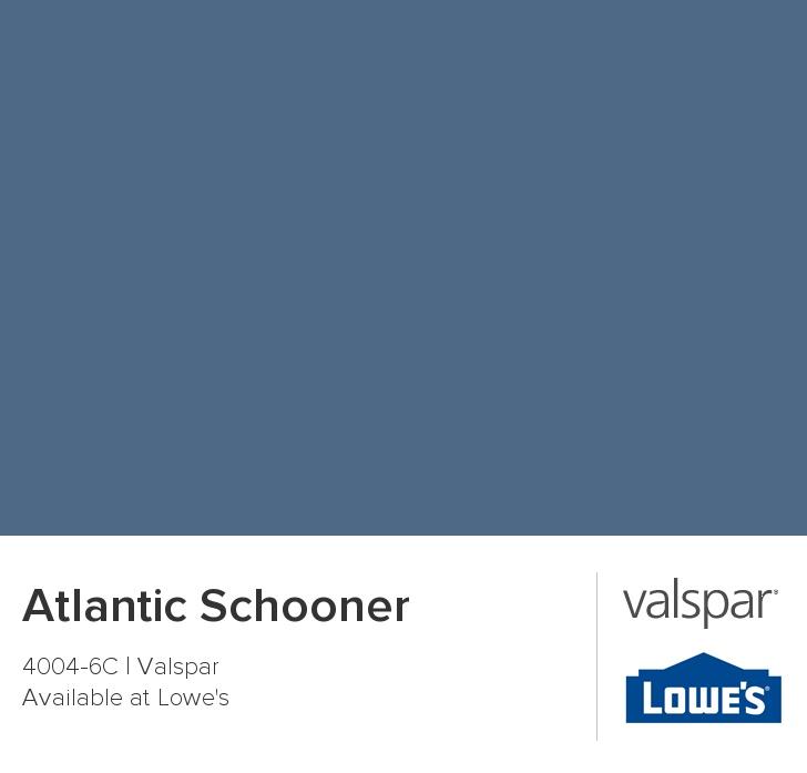 Atlantic Schooner From Valspar Paint Pinterest