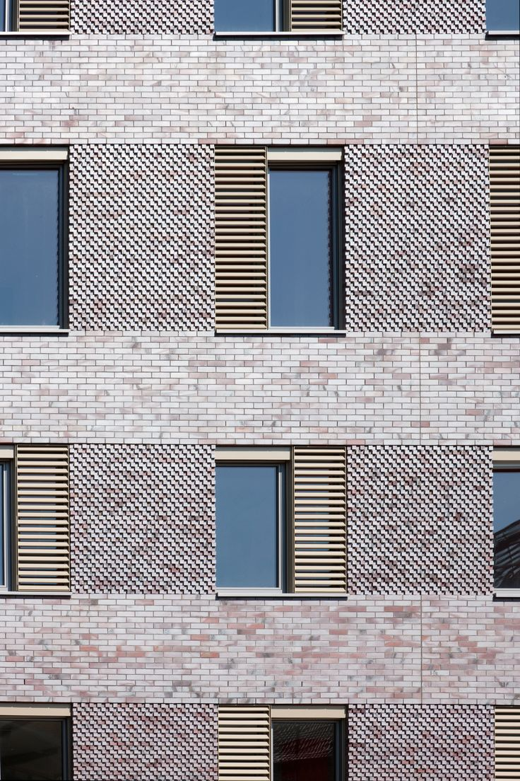 modern brick facade - Google Search