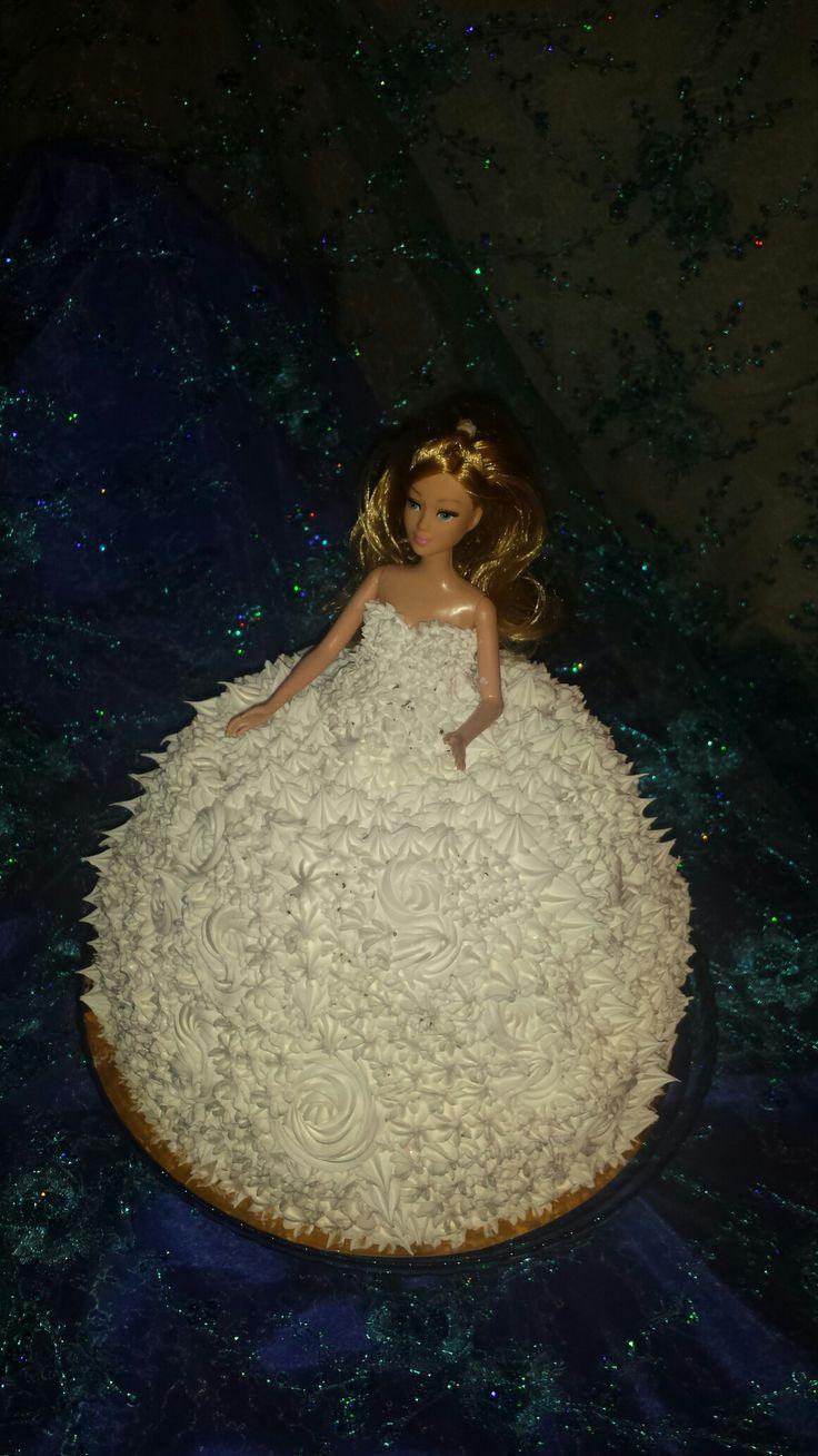 Пробный торт на девичник