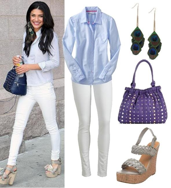 126 best images about White Jeans Outfits on Pinterest | White ...