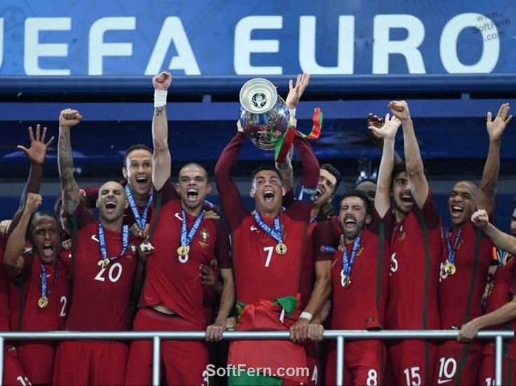 Portugal celebrate their surprising Euro 2016 victory        Video. Euro 16. Final. Portugal v France 1-0. Best moments and goal. ... 29  PHOTOS        ... EURO 2016 CHAMPIONS: Portugal!        Read original article:         http://softfern.com/NewsDtls.aspx?id=1104&catgry=6            #Nolito, #SoftFern Sport News, #Quarter-Finals