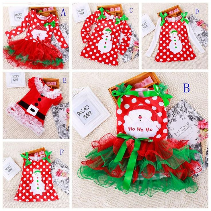Best Quality Girls Christmas Dress Babies Clothes Kids Holiday Clothes Children Dresses For Girl Santa Claus Snowman Printed Child Infant Lace Tutu Skirt At Cheap Price, Online Children's Special Occasions | Dhgate.Com