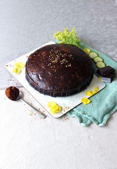 Gâteau très fondant chocolat courgette