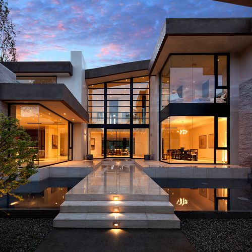 Luxury House In Los Angeles California: Best 25+ Contemporary Houses Ideas On Pinterest