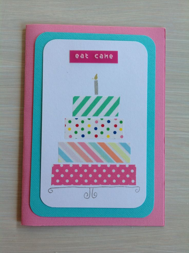 Motex label cake card