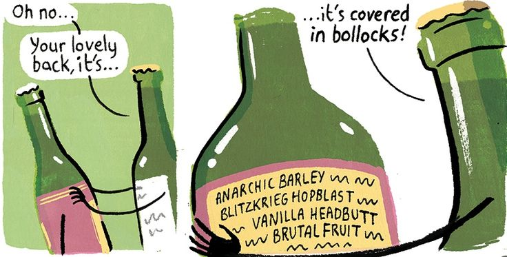 Stephen Collins on craft beer – cartoon | Life and style | The ...