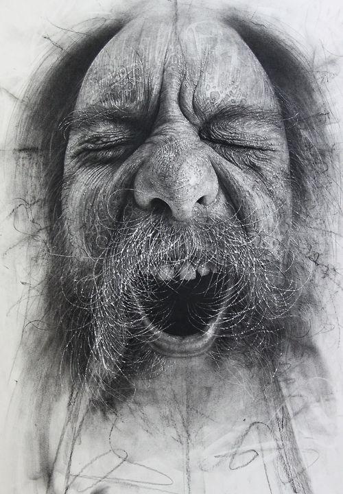 Art | TumblrFace, Drawing Art, Sandpaper, Art Blog, Charcoal Drawings, Illustration, Douglas Mcdougall, Portraits, Artists Douglas