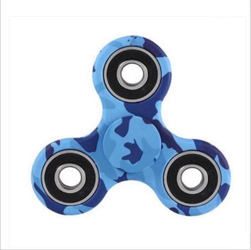 Camo Blue Fidget-Finger-Hand- Spinner-EDC-Irish-Stock-Focus Toy     | eBay