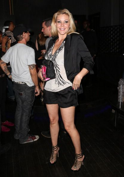Actress Shanna Moakler attends the Lloyd Klein Spring 2013 collection preview at Lure on September 20 2012 in Hollywood California