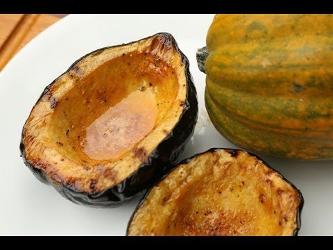 Sweet & Spicy Grilled Acorn Squash Recipe | BBQ How to | Pinterest ...