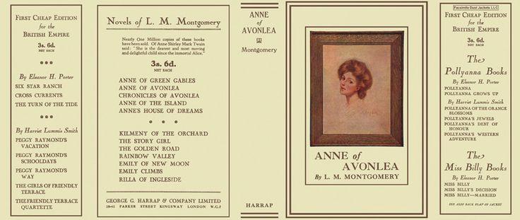 Anne of Avonlea. L. M. Montgomery.