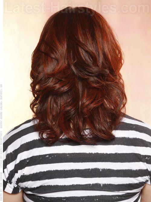 25+ trending Brown hair red highlights ideas on Pinterest ...