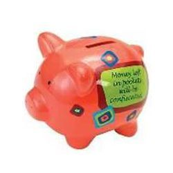 Money Left In Pockets Will Be Confiscated Piggy Bank