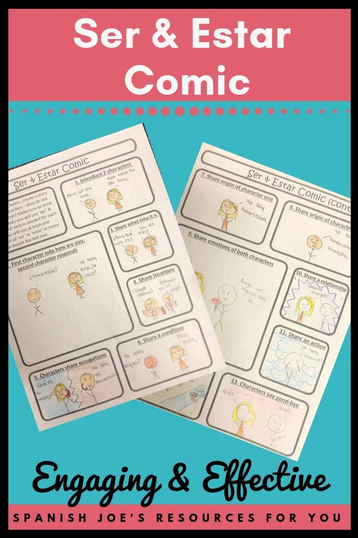 This Drawing Sentence Practice Activity Will Engage Your Middle School Junior High Or Middle School Spanish Activities Learning Spanish High School Spanish [ 1102 x 735 Pixel ]