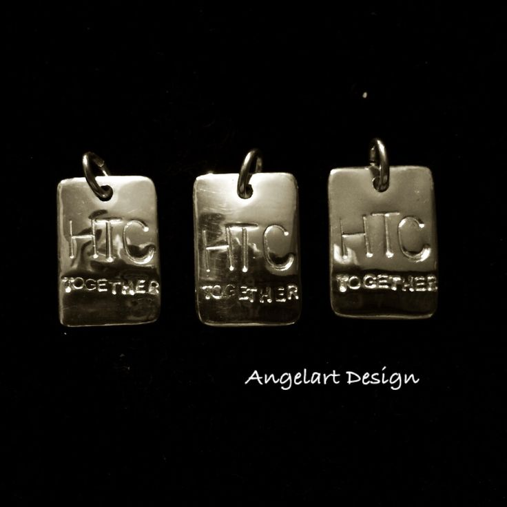 Tags in 999 Fine Silver made by Angelart