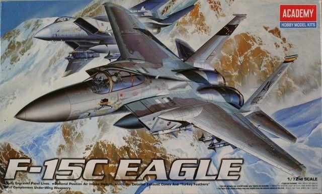Boxart F-15C Eagle 2108 Academy