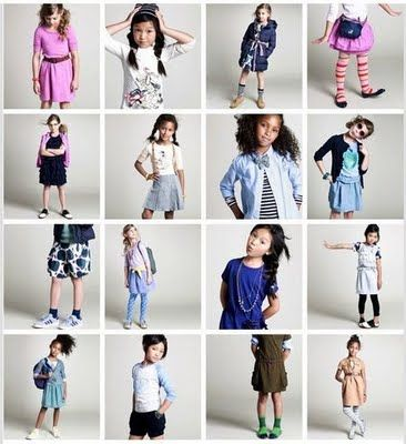 Girls Back to School photo shoot wardrobe ideas from crewcuts (j crew)