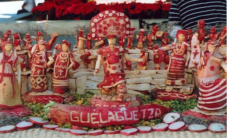 Fun! Noche de Rabanos or Radish Night celebrates 113th anniversary on Dec 23 in Oaxaca City #Mexico #MexMonday