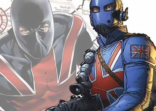 "Union Jack (Joseph ""Joey"" Chapman) - Karakter Superhero Marvel Comics 2"