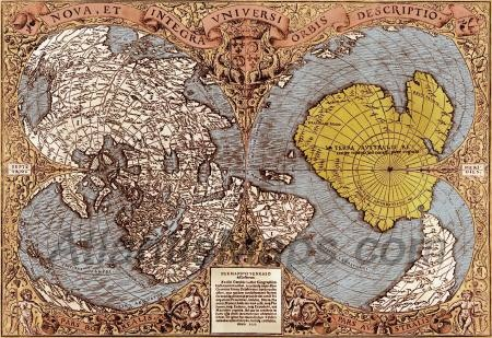 The PIRI REIS Map of Antarctica. Does this old map prove a polar shift? The continent is shown without ice. How would anyone have known the shape of the land, yet it is accurate. Big mystery here.